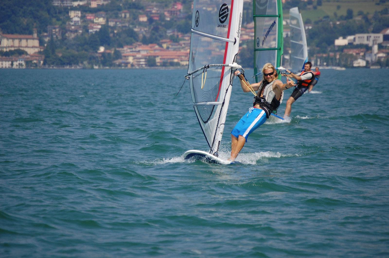 FABIO FRATTINI istruttore di windsurf